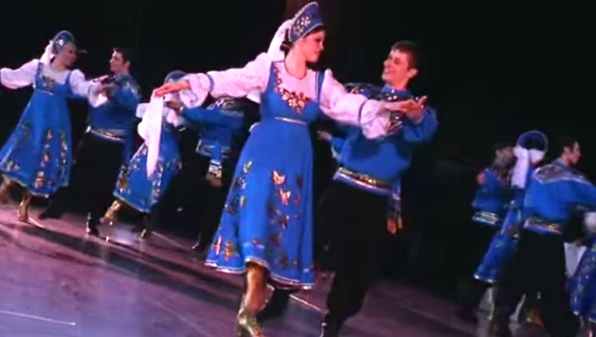 clase alta ruso baile