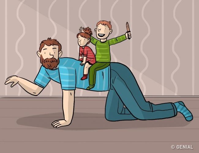 crianza papa 5