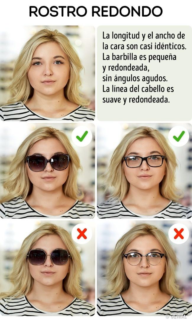 Aprende A Escoger Los Lentes De Sol Ideales Para Tu Tipo De Rostro ...