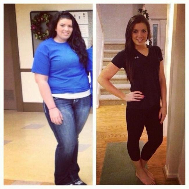 15 kg súlycsökkenés előtte és utána