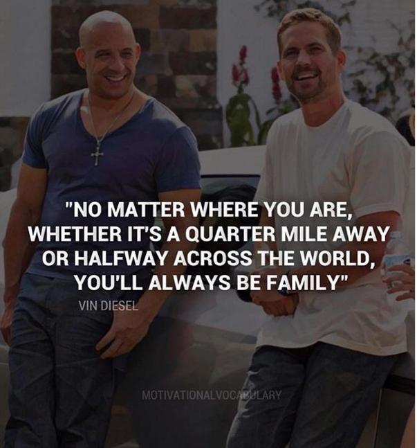 A 4 Años De La Muerte De Paul Walker Vin Diesel Lo Recuerda